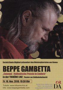 Beppe Gambetta Flyer