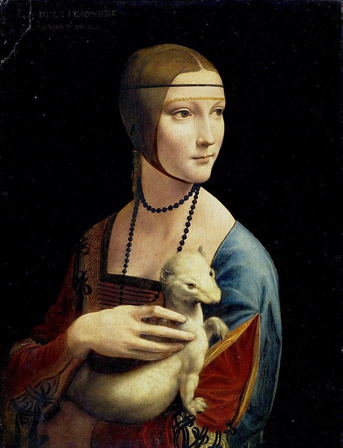 Die Dame mit dem Hermelin von Leonardo da Vinci