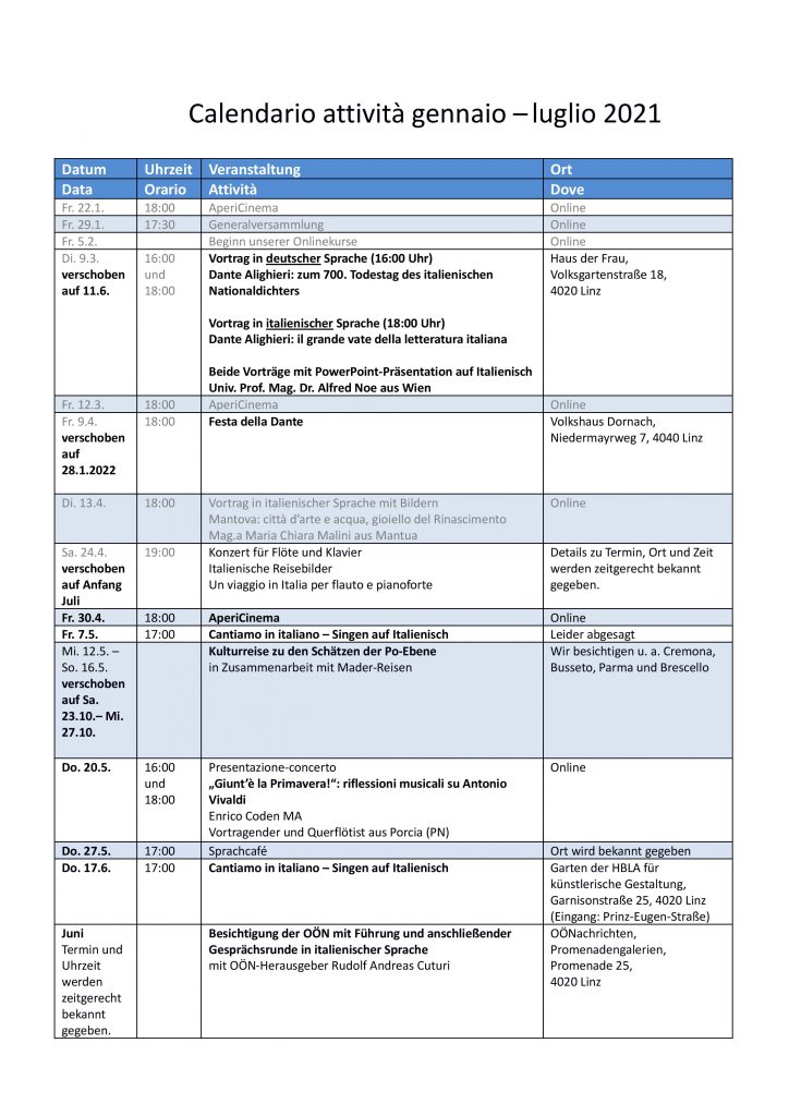 Calendario attività gennaio-luglio_aggiornato