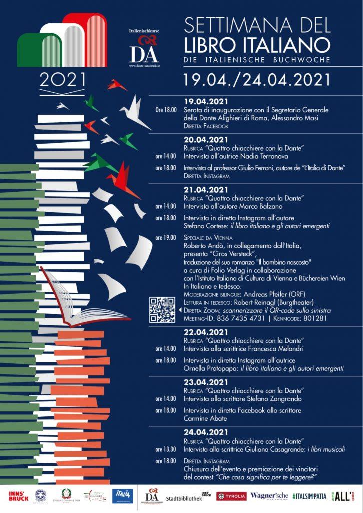 Locandina - Settimana del libro italiano